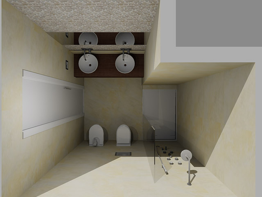 Baño 2 en 3D