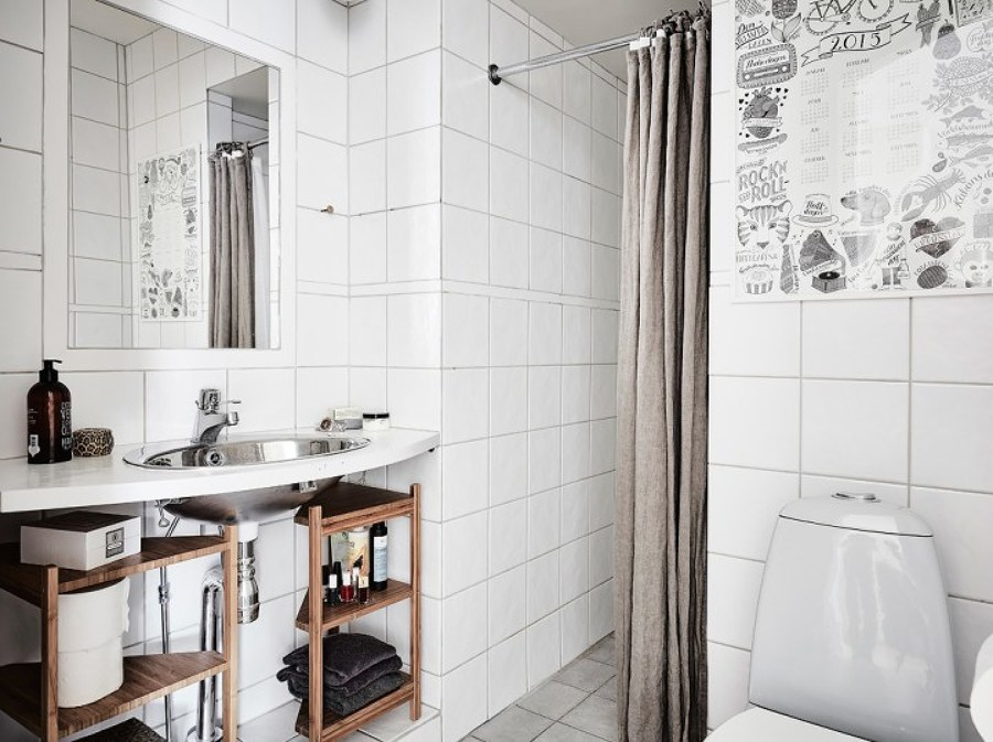 Azulejos Blanco Baño   Foto Bano Alicatado Azulejo Blanco De Miv Interiores 1299618