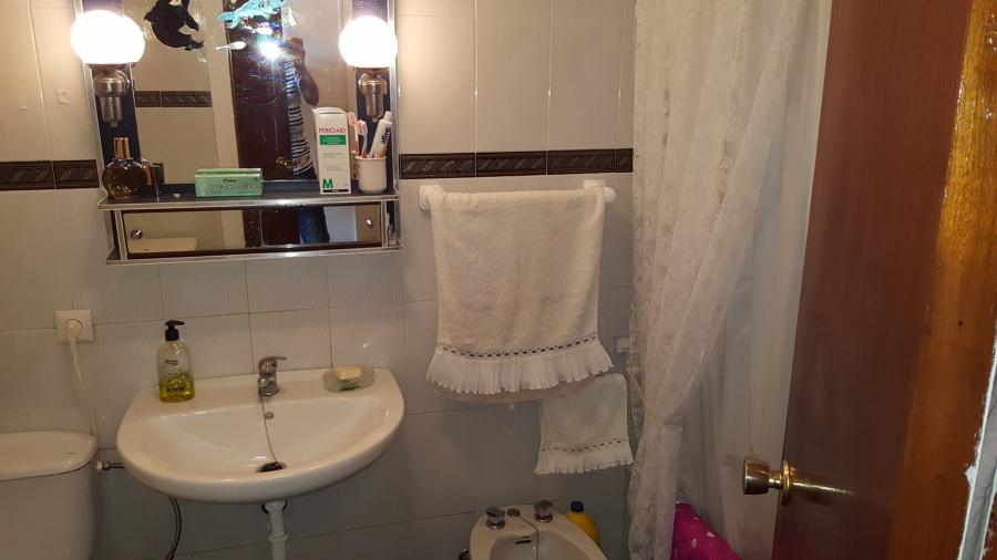 Baño antes de reformar.