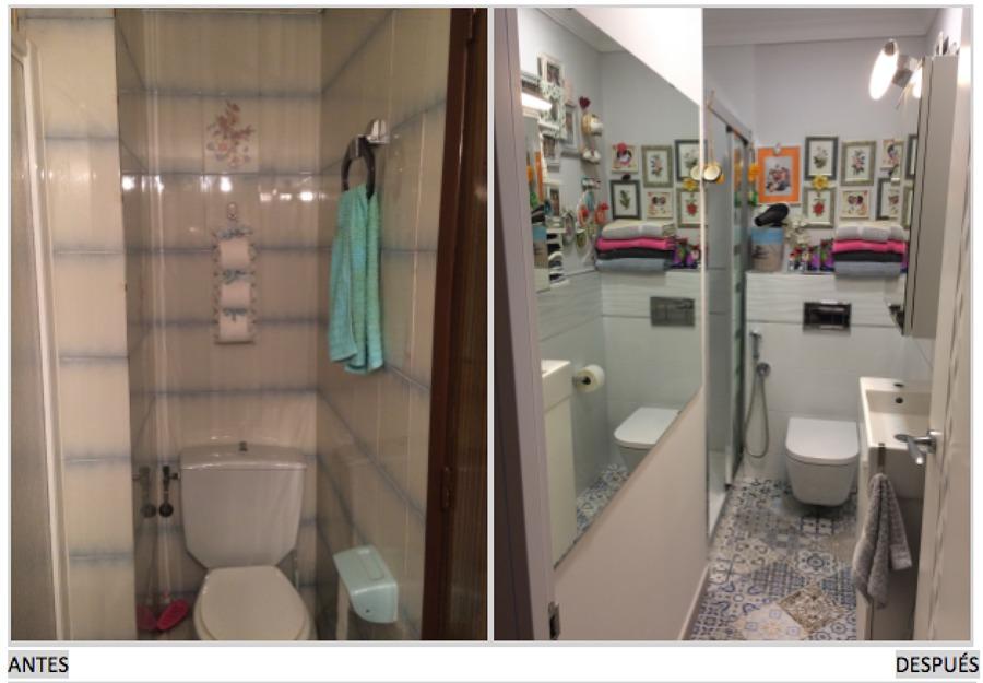 Baño antes / después
