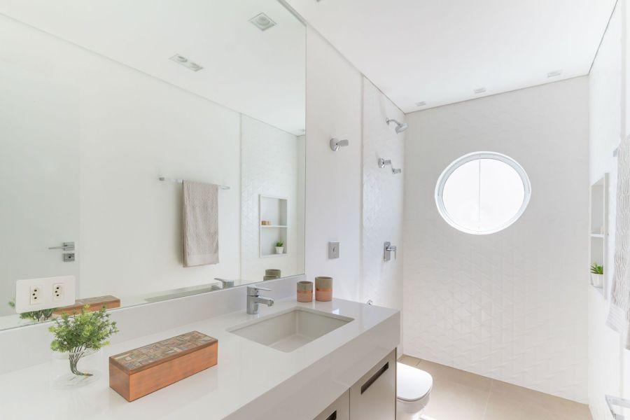 baño blanco