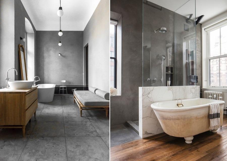 Baños de Cemento, una Opción Asequible y Duradera | Ideas ...