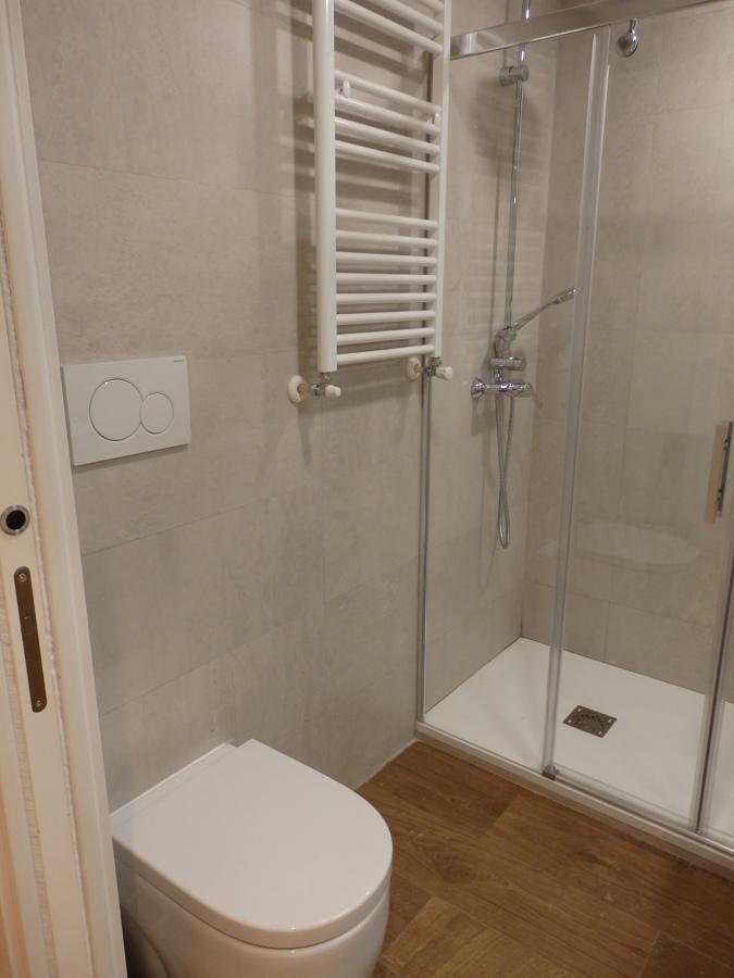 baño común ducha