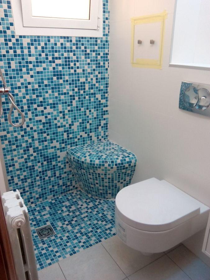 Baño con asiento