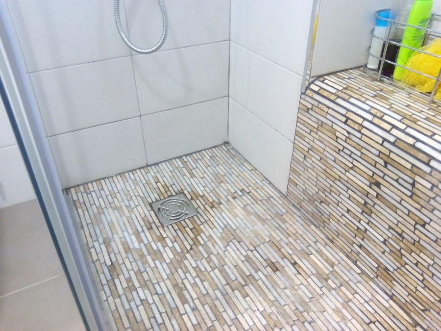 Baño con bancada