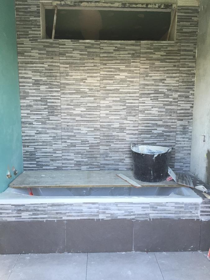Baño con bonito diseño