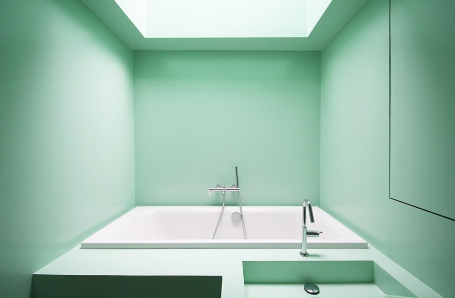 baño con lucernario