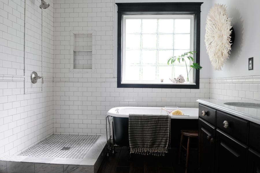 Foto ba o con mueble negro de elenatorrente d az 1029024 habitissimo - Mueble bano negro ...