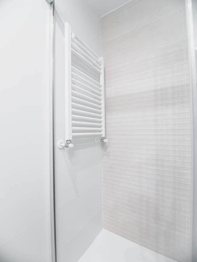 Baño con radiador