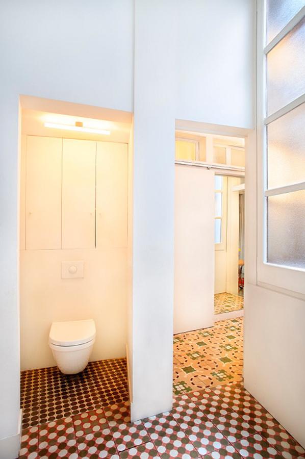 Cambio radical con muebles a medida ideas arquitectos - Baldosa hidraulica bano ...