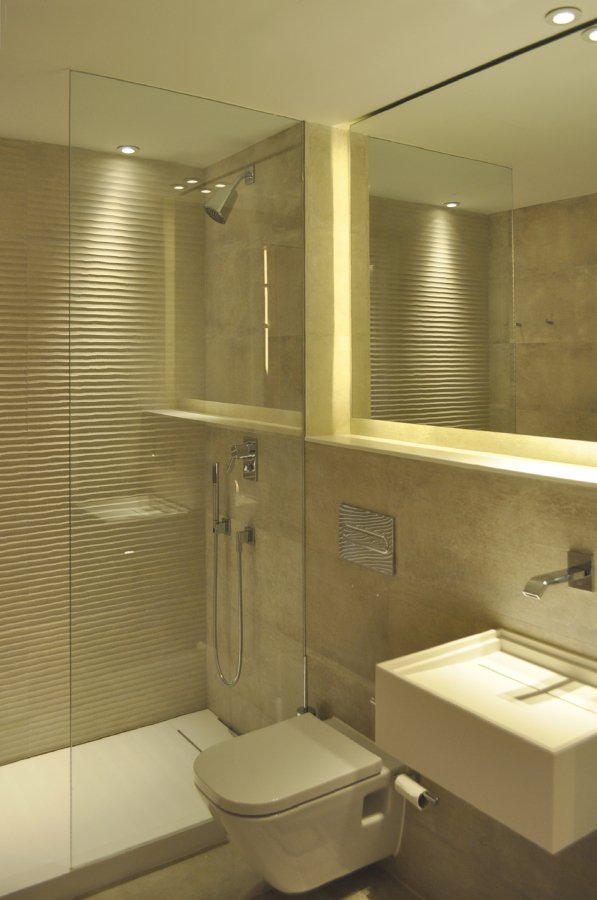 Foto ba o de cortesia de rardo architects 1035434 - Bano de cortesia ...