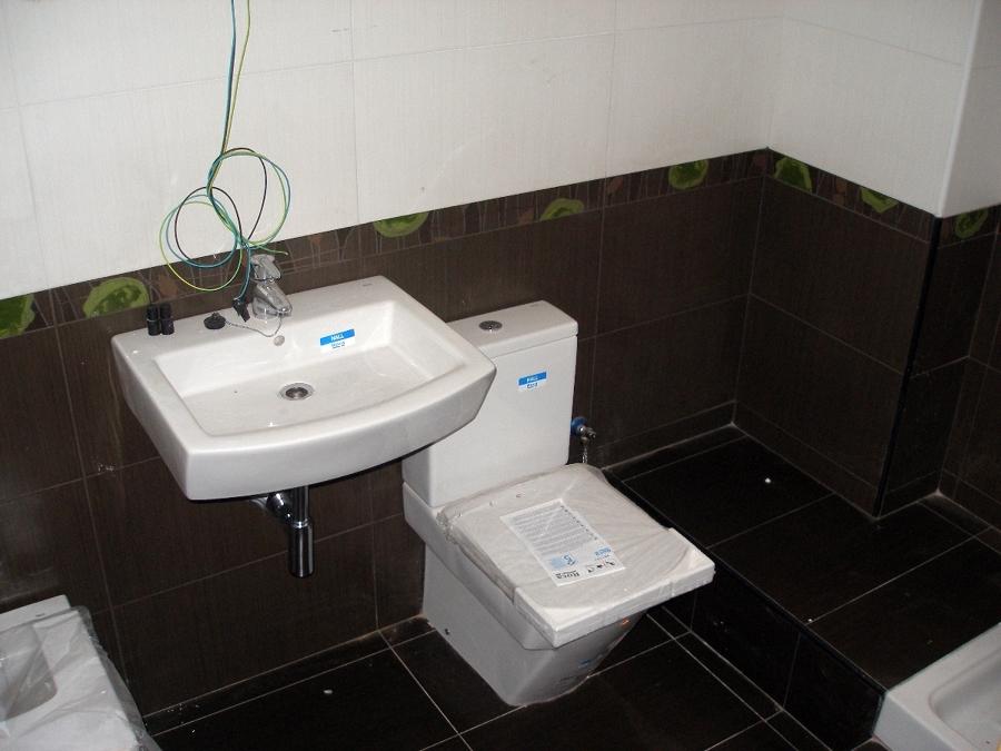 Baño de la vivienda nueva