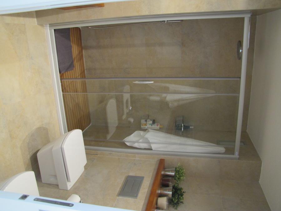 baño de matrimonio,detalle ducha