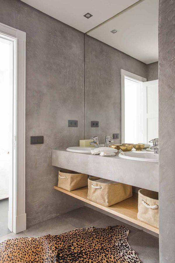 baño de microcemento