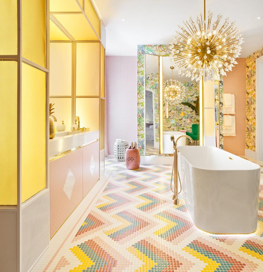 baño diseñado por Nuria Alía