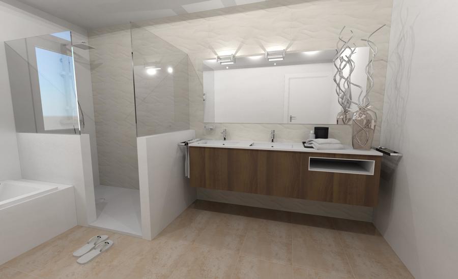 baño ducha de obra