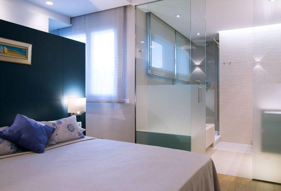 Baño en dormitorio