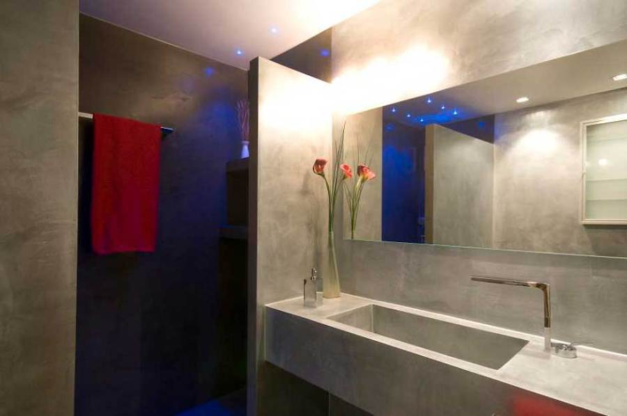 Baño Microcemento Gris ~ Dikidu.com