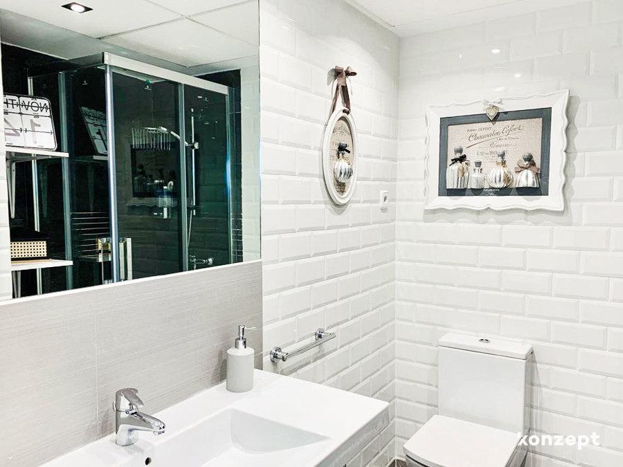Baño en suite para el dormitorio 1