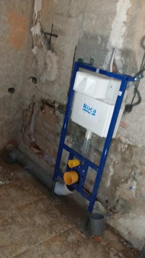 BAÑO , estructura DUPLO WC