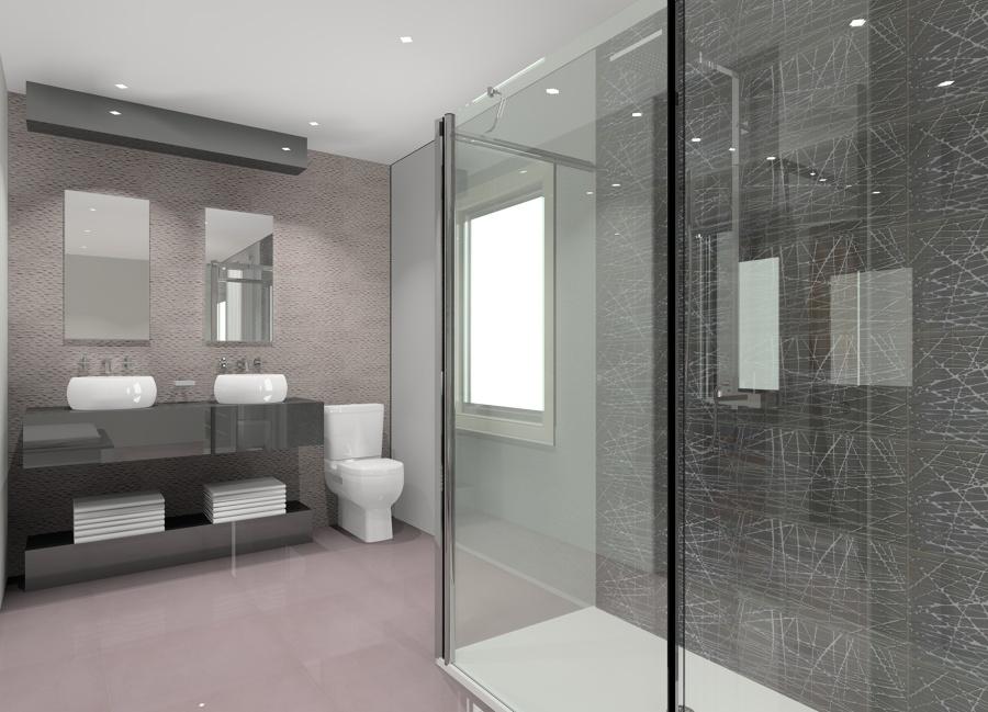 Baño Dormitorio Integrado:Dormitorio con Baño Integrado