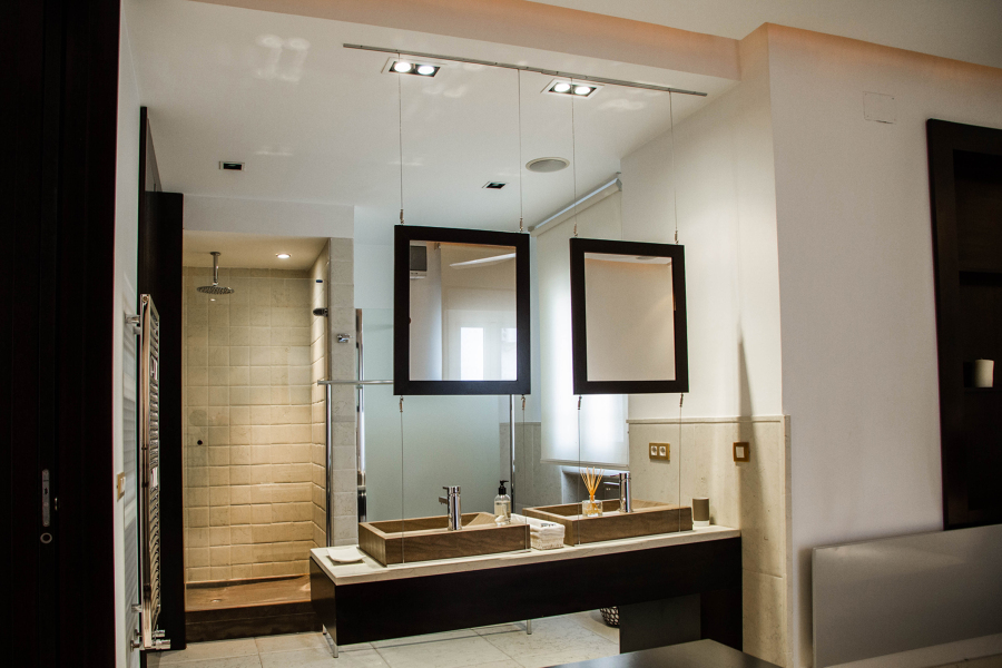 Reforma integral de una vivienda de 80 m2 ideas reformas for Dormitorio con bano