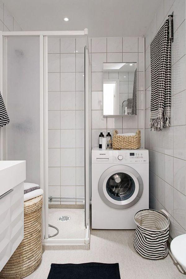 Ba o pequeno lavadora - Instalar lavadora en bano ...