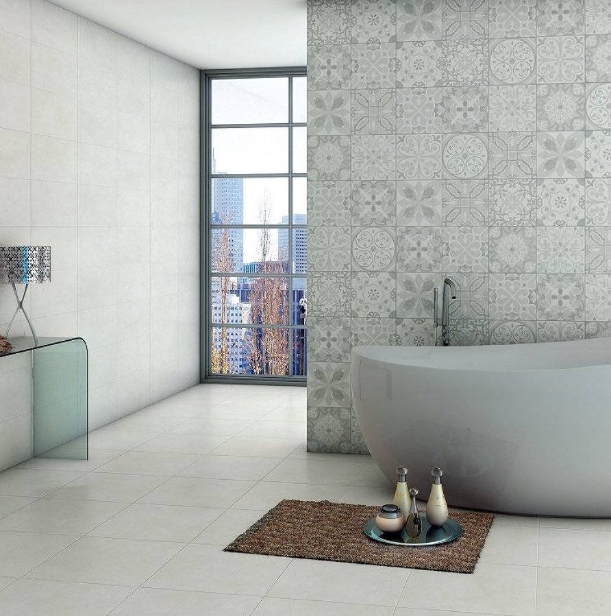 baño mosaico