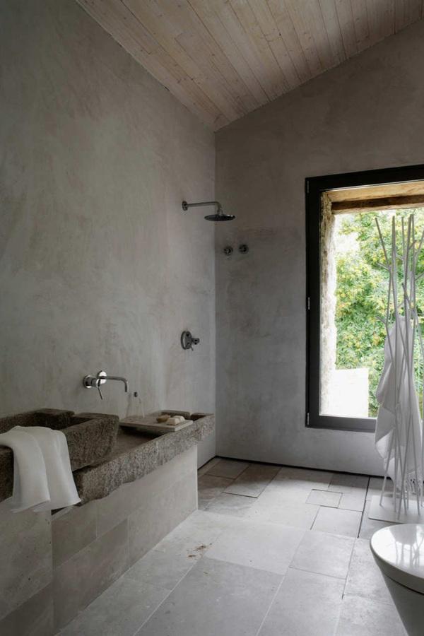Baño Rustico Con Piedra:Lavabos de Piedra para Todos los Gustos y Estilos