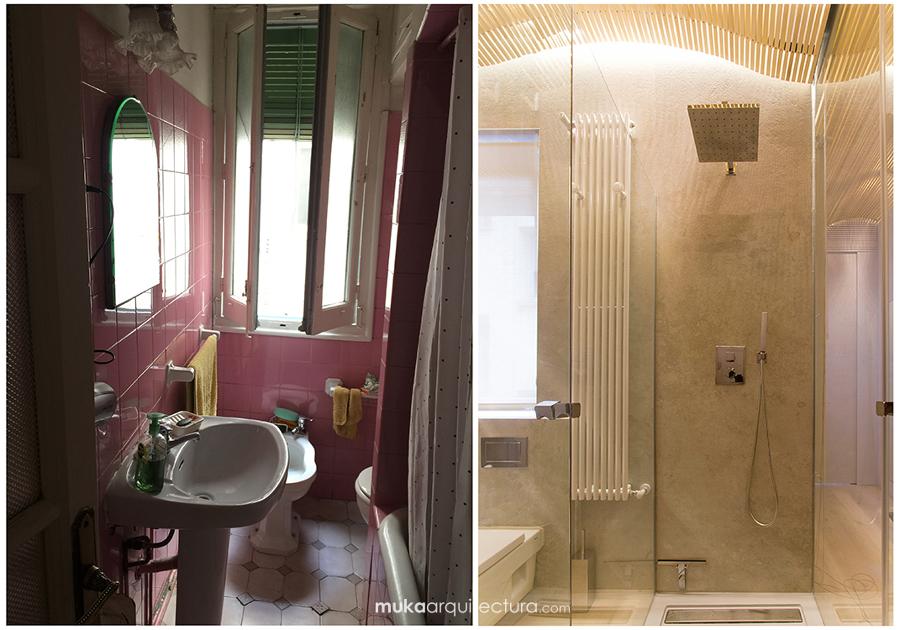 Baño Principal Antes y después