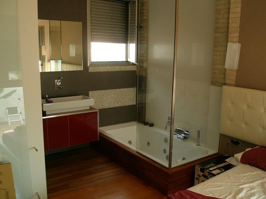 baño principal, dormitorio terminado