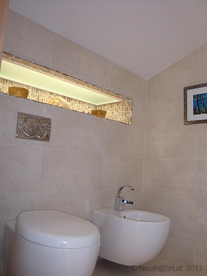 Baño Principal en Vivienda Ampliada en Marbella