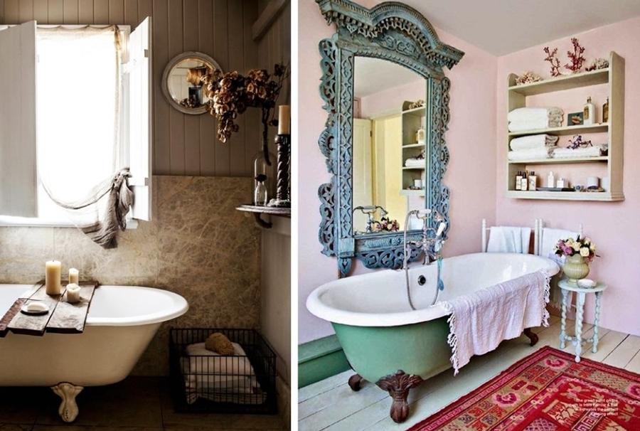 Decoracion Baño Romantico:baño romantico decoracion