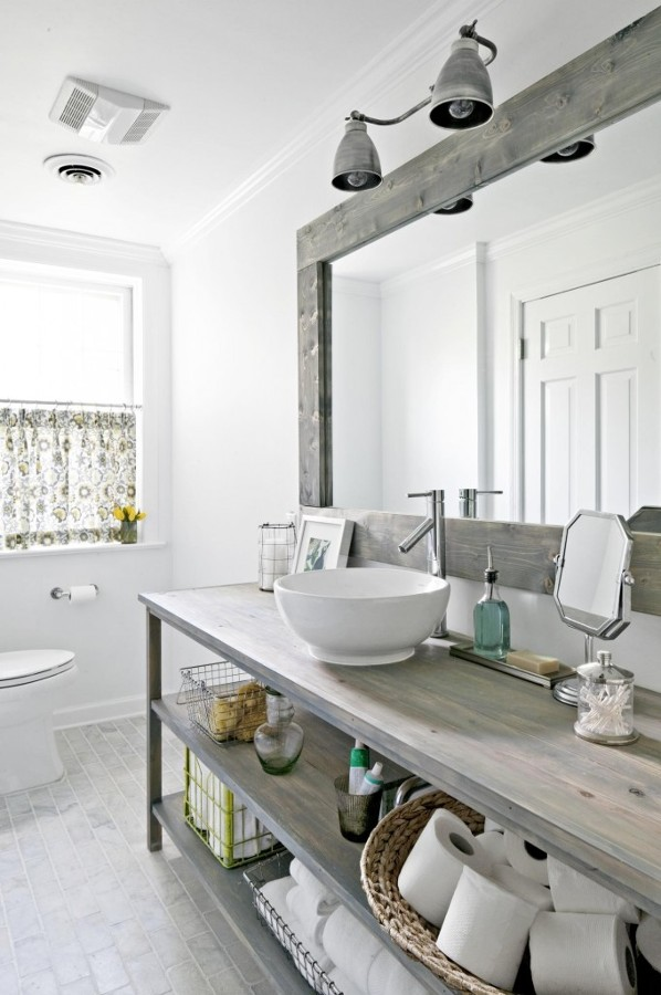 Baños Rusticos Romanticos:quieres Reformar Tu Baño? Estos Son Mis Favoritos