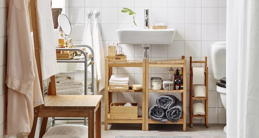 Baño sostenible de IKEA