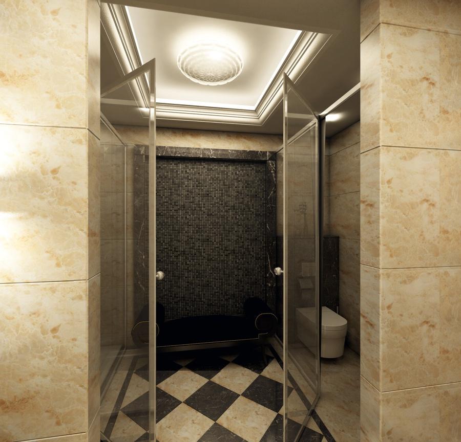 Medidas Baño En Suite:de baño en suite Marmol, jacuzzi, mobiliario hecho a medida