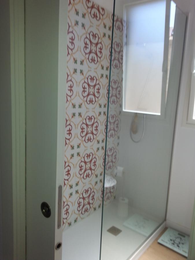 Baño techos y paredes