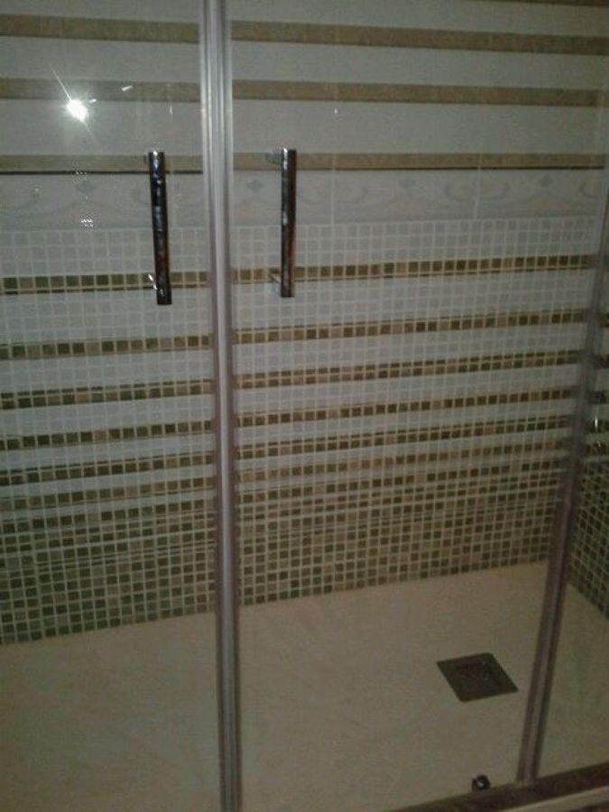 Baño terminado - Mampara
