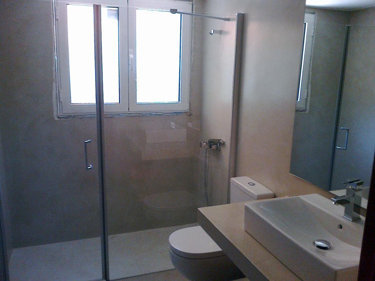 Baños Modernos Terminados:Foto: Baño Terminado de Manolo Rovira Sl #306034 – Habitissimo