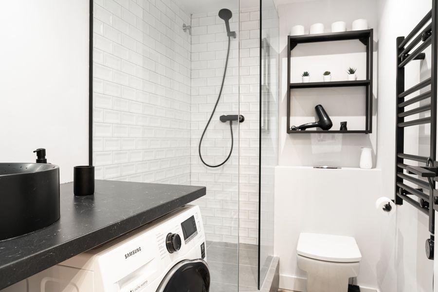 baño toallero