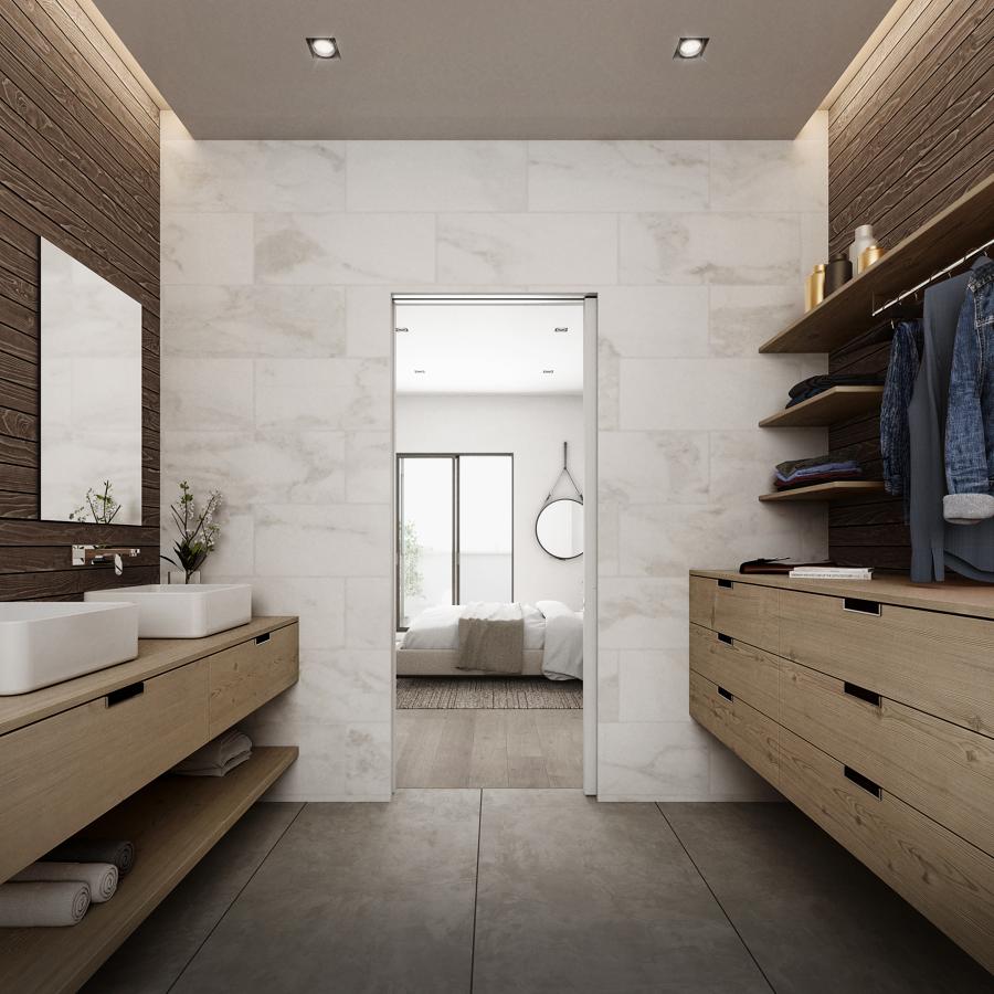 Baño / vestidor en dormitorio principal
