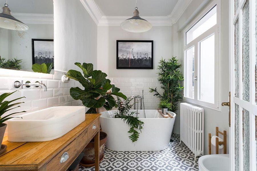 Baño vintage