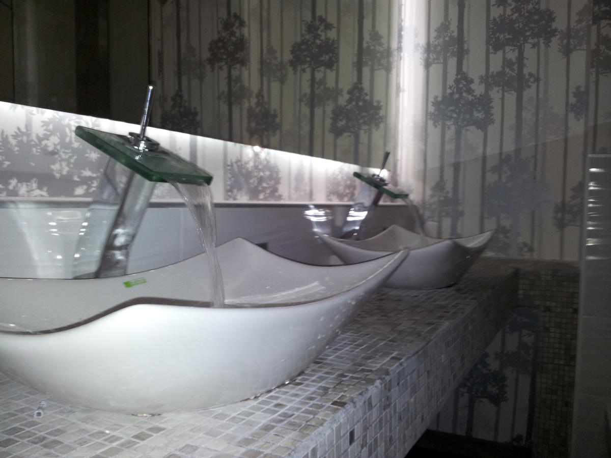 Baño vintage muy bonito