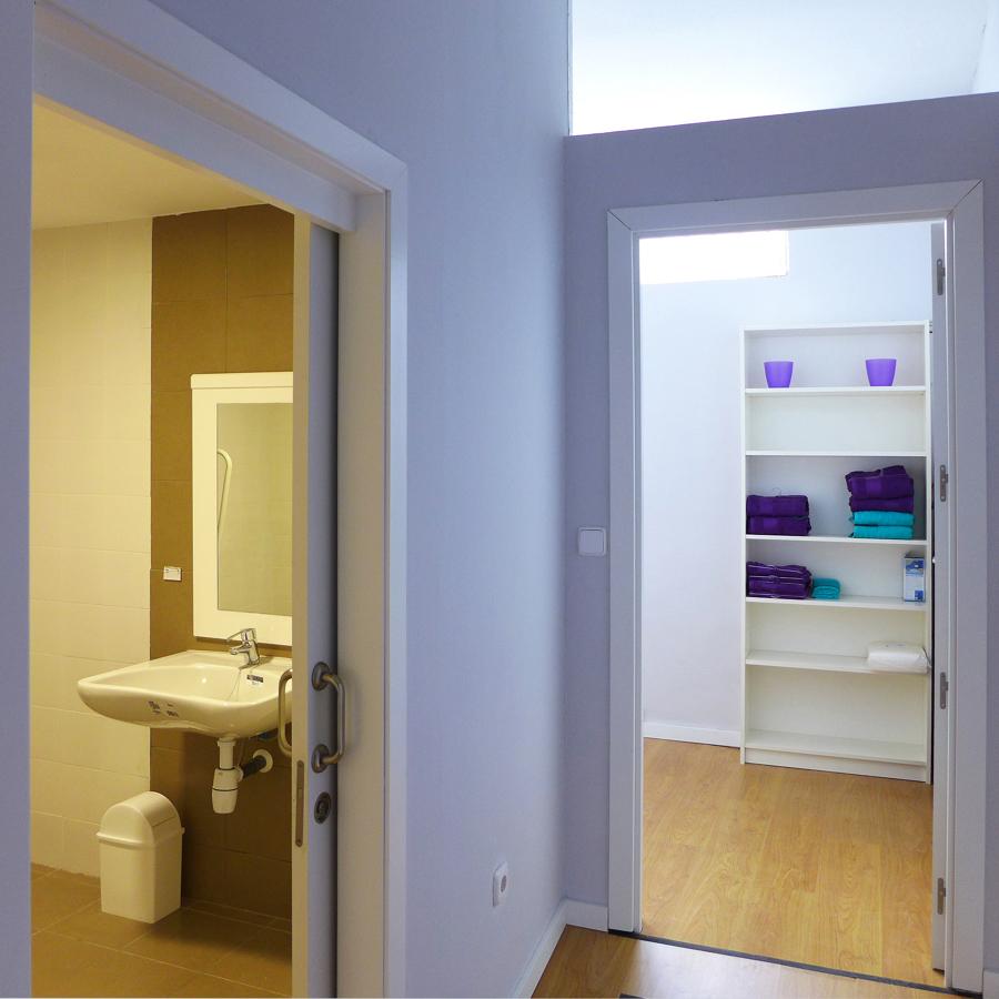 Baño y sala