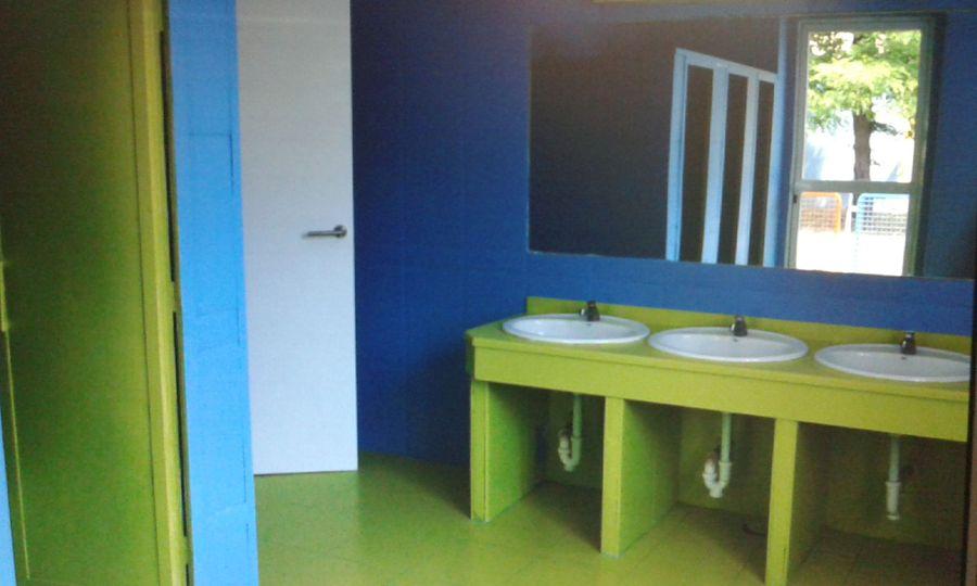 Reforma Baño Infantil:Antes y Después Reforma Colegio, en Madrid