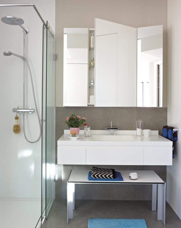 S cale el m ximo partido a tu cuarto de ba o peque o - Espejos para lavabos ...