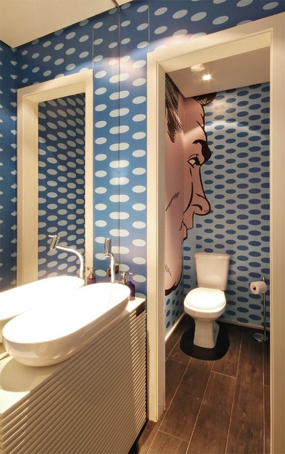 Ideas de decoraci n de ba os pop art ideas art culos for Articulos decoracion banos