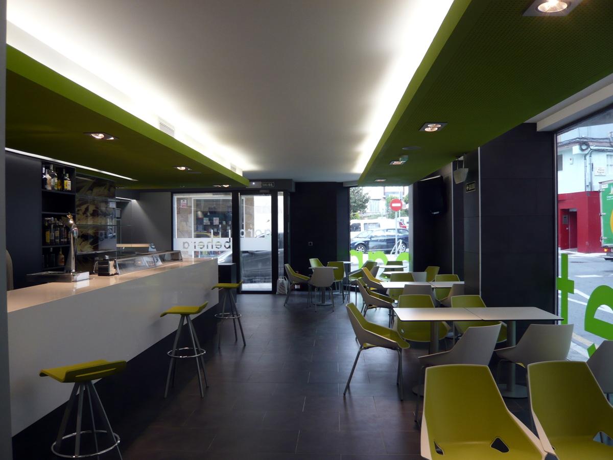Bar cafeter a en mutilva ideas reformas locales comerciales - Proyecto bar cafeteria ...