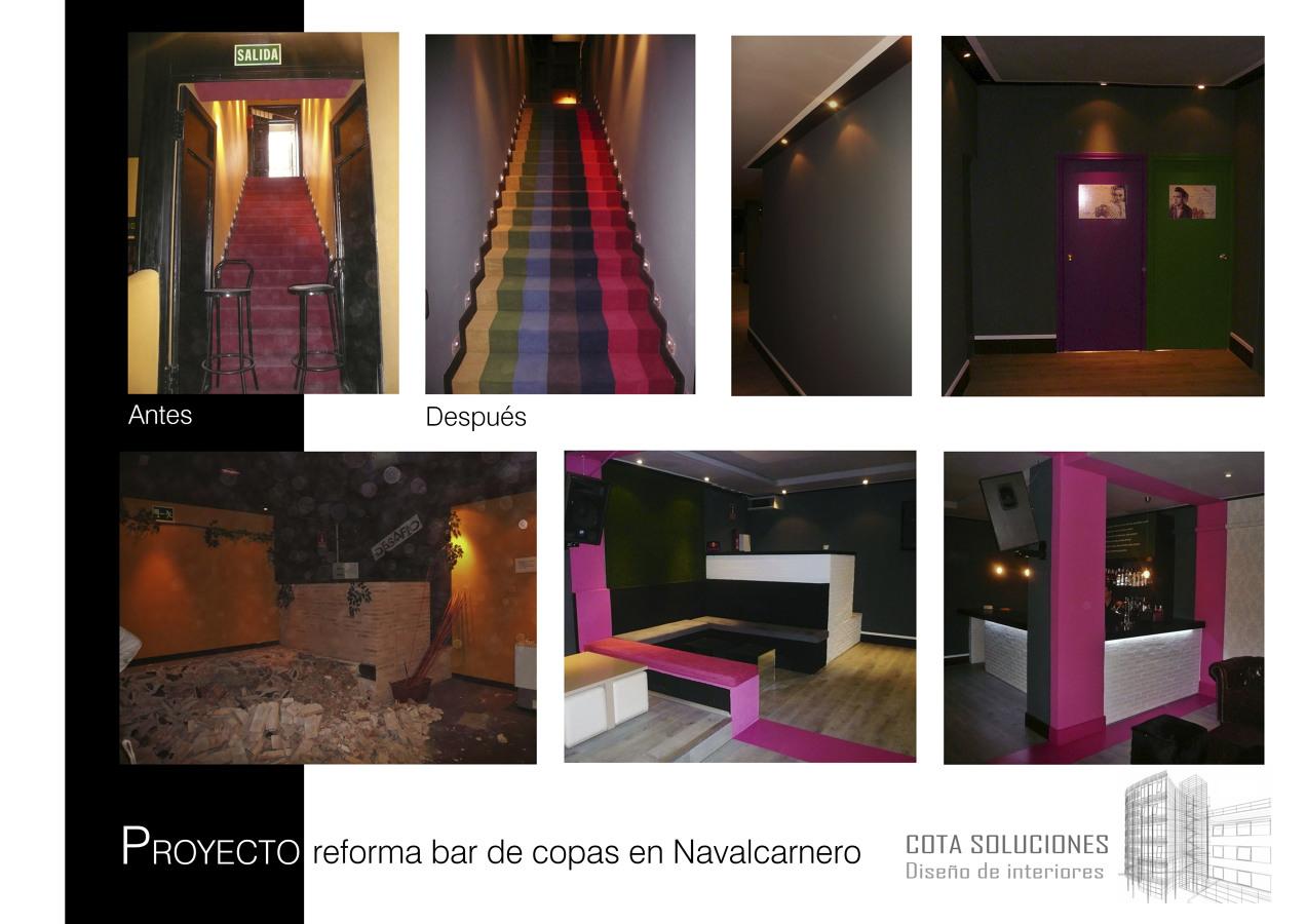 Proyecto de reforma de bar de copas ideas decoradores - Decoradores de bares ...