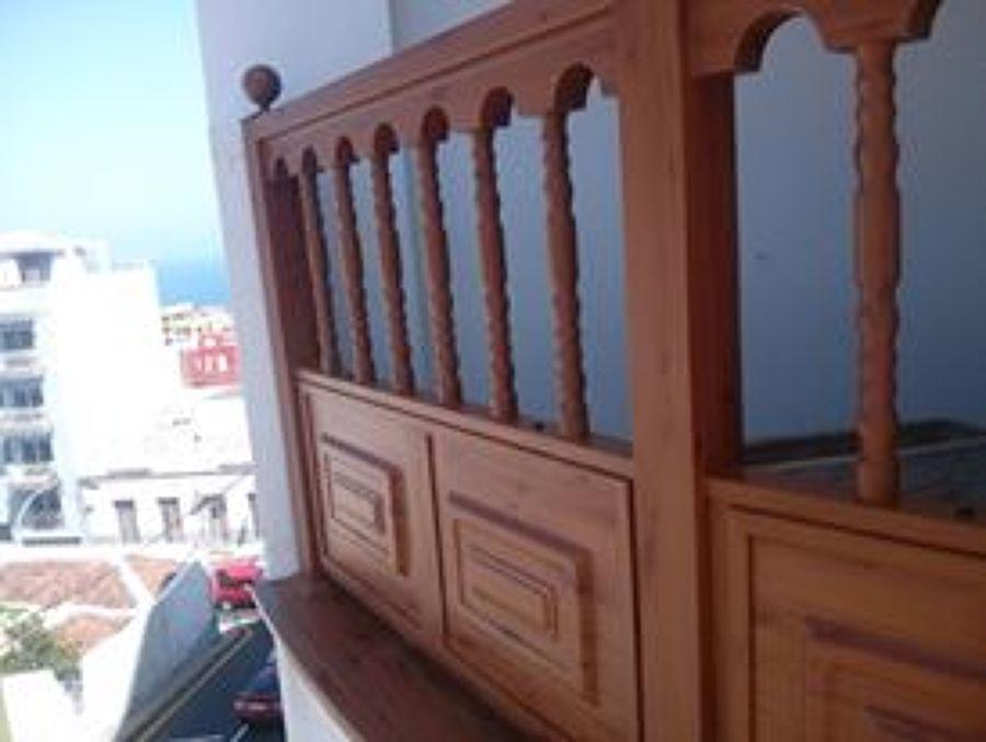 baranda color madera